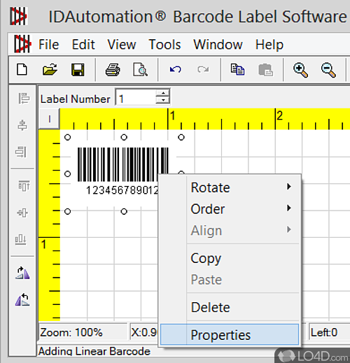 IDAutomation Barcode Label Software - Download