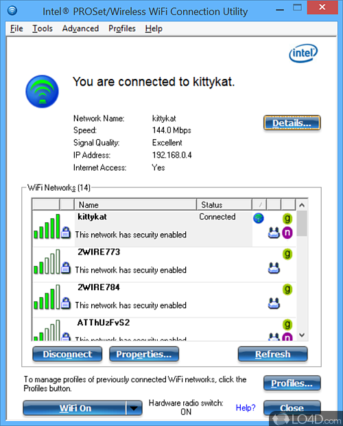 Intel PROSet/Wireless WiFi Software - Download