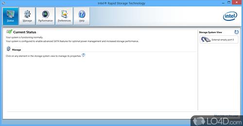 intel(r) matrix storage manager driver supporting 64-bit