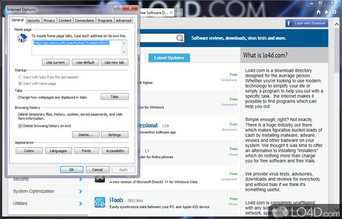 Internet Explorer 10 - Screenshot 2