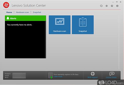 Lenovo Solution Center - Download