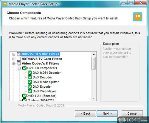 free download codec media player windows 7