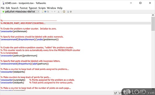 MiKTeX - Screenshot 1