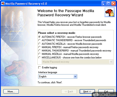 Mozilla Password Recovery - Download