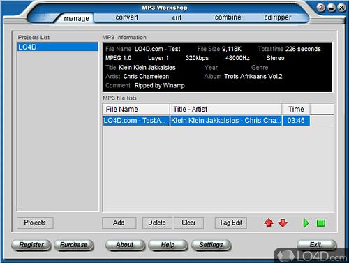MP3 Workshop - Download