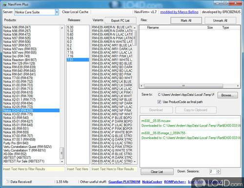 NaviFirm Plus - Screenshot 3