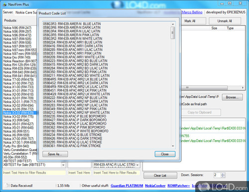 NaviFirm Plus - Screenshot 4