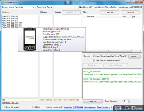 NaviFirm Plus - Screenshot 5