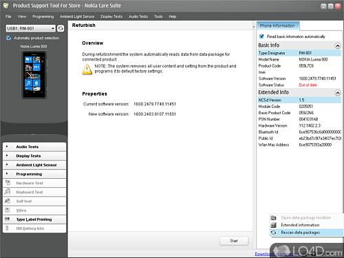 Nokia Care Suite - Screenshot 1
