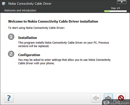 Nokia Connectivity USB Driver - Screenshot 1