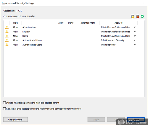 NTFS Permissions Tools - Screenshot 3