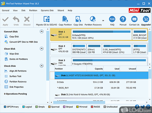 MiniTool Partition Wizard Free - Download