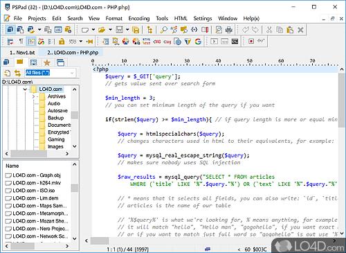 PSPad Editor - Download