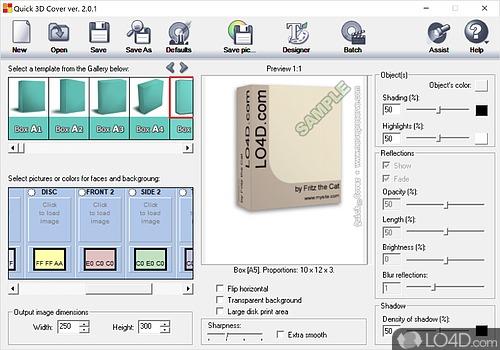 Quick 3D Cover - Screenshot 1