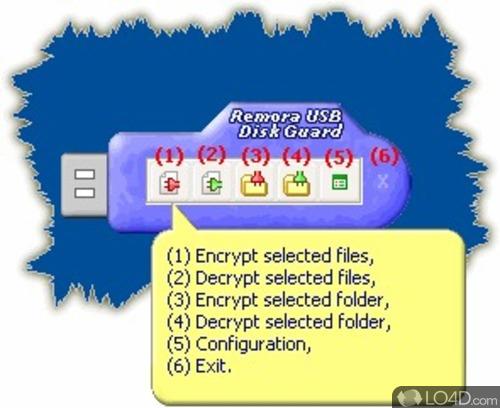 Remora USB Disk Guard - Screenshot 1