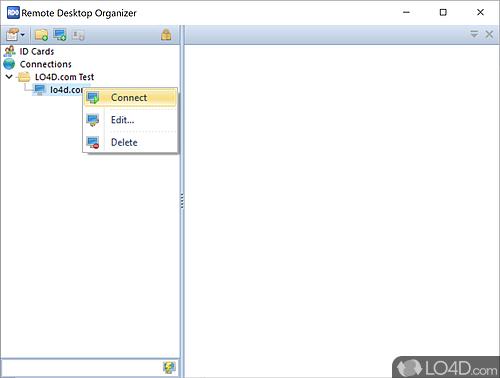 Remote Desktop Organizer - Download