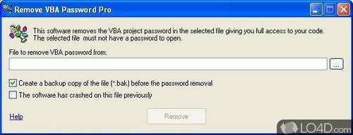 Remove VBA Password - Screenshots