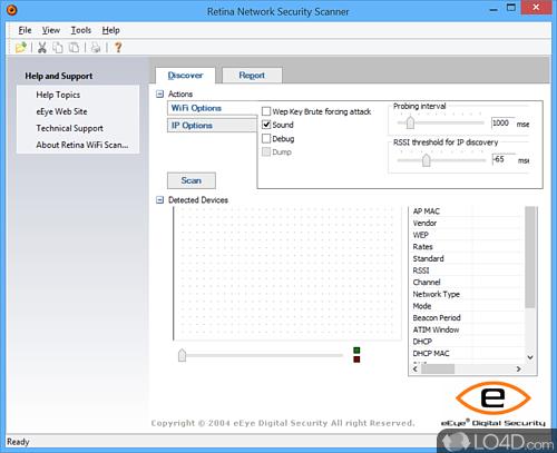Retina WiFi Scanner - Download