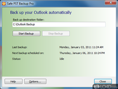 Safe PST Backup - Download