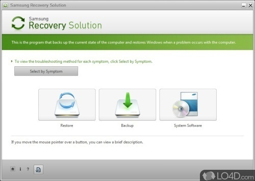 Samsung Recovery Solution - Download