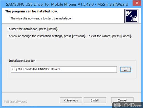Samsung USB Driver for Mobile Phones - Screenshot 2