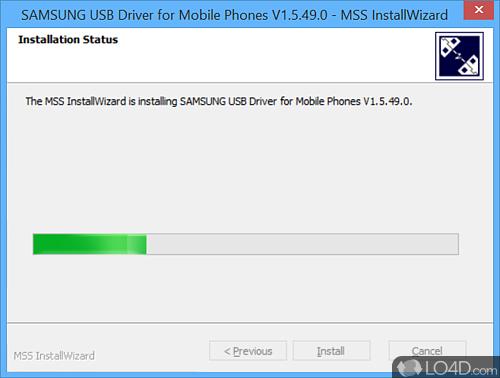 Samsung USB Driver for Mobile Phones - Screenshot 3