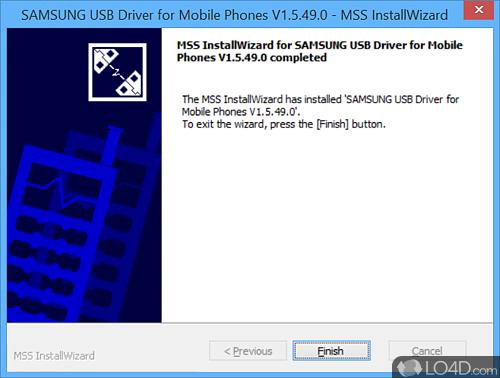 Samsung USB Driver for Mobile Phones - Screenshot 4