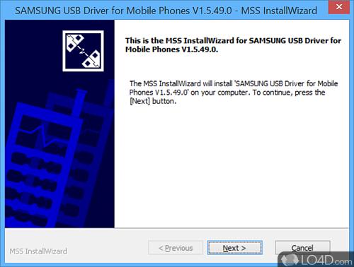 Samsung USB Driver for Mobile Phones - Screenshot 1
