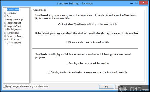 Sandboxie - Screenshot 2