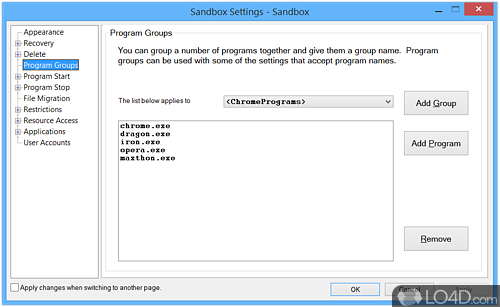 Sandboxie - Screenshot 3