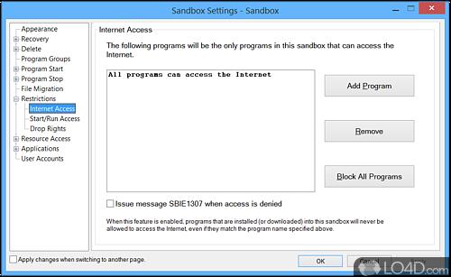 Sandboxie - Screenshot 4