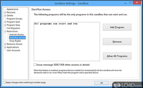Sandboxie - Screenshot 5