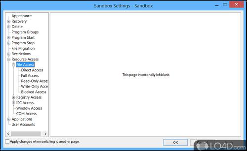 Sandboxie - Screenshot 6