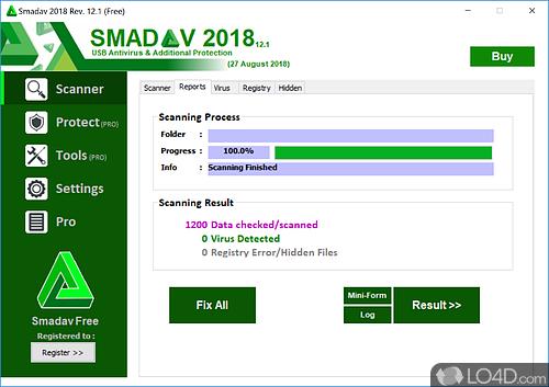 SmadAV 2017 - Screenshot 2