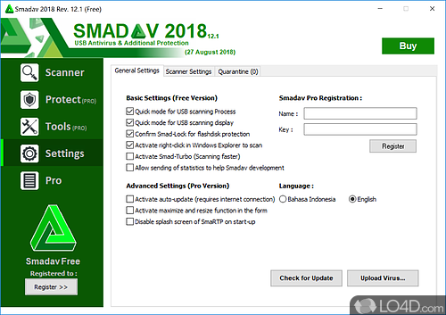 SmadAV 2017 - Screenshot 3