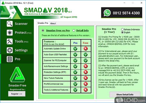 SmadAV 2017 - Screenshot 6