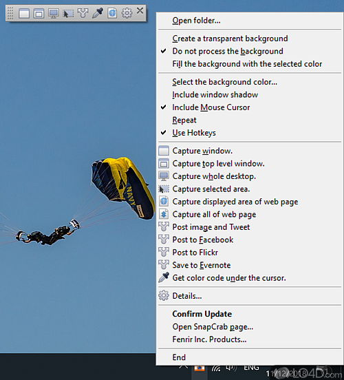 SnapCrab for Windows - Screenshot 1