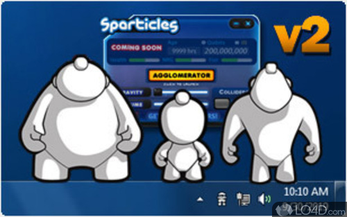 sparticles 2.0
