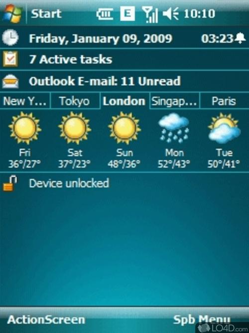 SPB Weather - это самая мощная программа для скачивания и просмотра прогноз