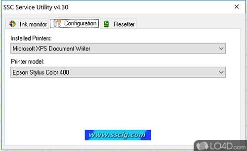 SSC Service Utility - Screenshot 1