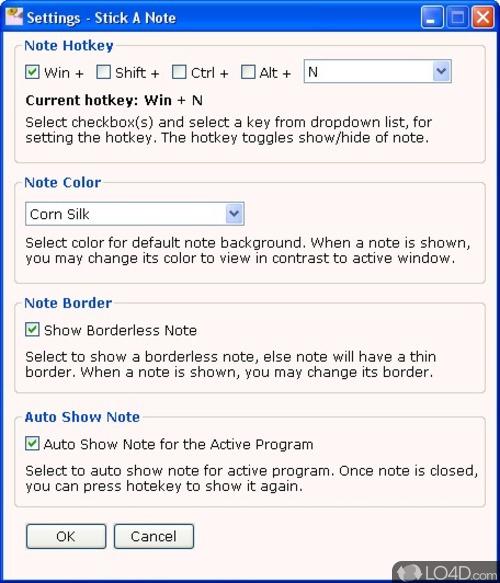 Stick-a-Note - Screenshot 1