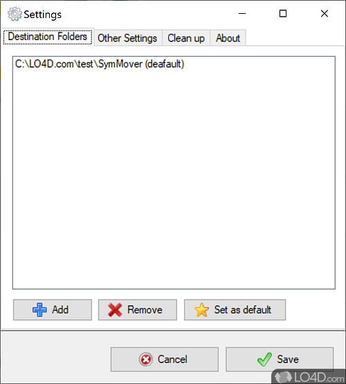 SymMover - Screenshot 3
