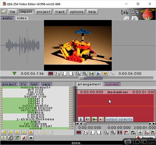 ZS4 Video Editor - Screenshot 1