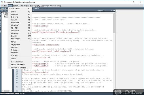 Texmaker - Screenshot 2
