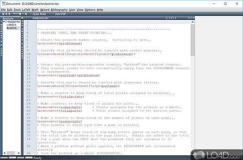 Texmaker - Screenshot 1