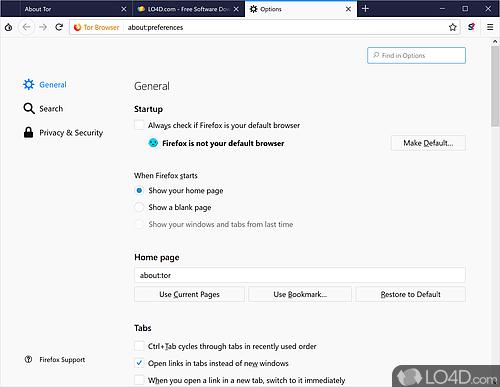 Tor - Screenshot 3