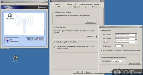 Toshiba Bluetooth Stack - Screenshot 2