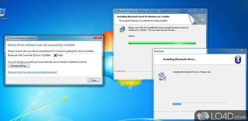 Toshiba Bluetooth Stack - Screenshot 3