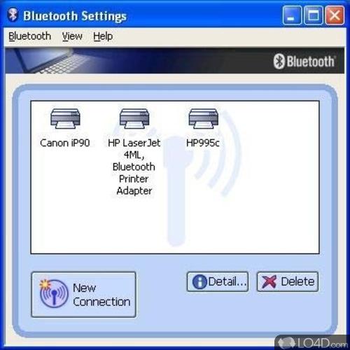 Toshiba Bluetooth Stack - Screenshot 1