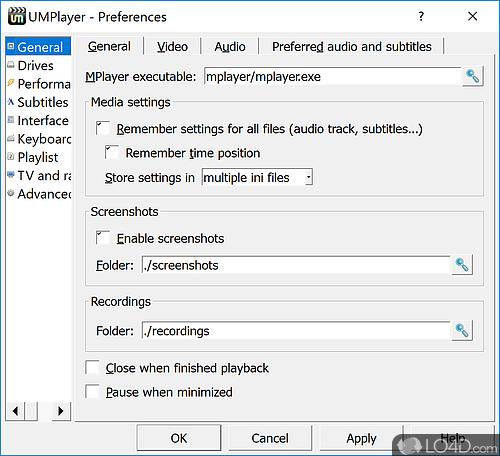 UMPlayer - Screenshot 5